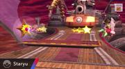 Staryu usando rapidez SSB4 Wii U.png