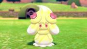Alcremie nata amarilla con corazones EpEc.png
