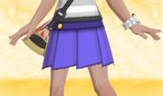 Minifalda Plisada Violeta.png