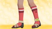 Calcetines de Deporte Rojo.png