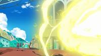 Gigavoltio destructor del Pikachu de Ash.