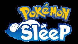 Logotipo de Pokémon Sleep.