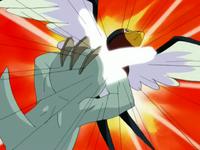 Golpeando al Taillow de Ash.