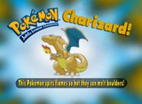 """Las llamas de este Pokémon son tan calientes que derriten rocas""."