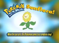 """""""Cuando el sol se oculta, este Pokémon queda inmóvil""""."""