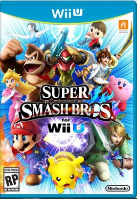 Carátula de Super Smash Bros. para Wii U