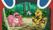 EP985 Lickitung, Magneton y Electabuzz.png