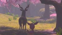 Fotografía Sawsbuck y Deerling New Pokémon Snap.jpg