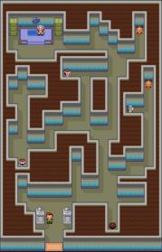 Interior del Gimnasio de Azuliza en los videojuegos