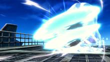 Mega-Glalie usando Giro bola