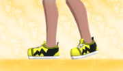 Zapatillas de Deporte Amarillo F.png