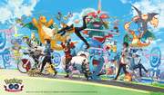 Artwork Primer Aniversario Pokémon GO.png