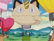 Globo del Meowth del Equipo/Team Rocket.