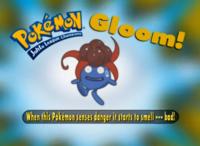 """""""Cuando este Pokémon se siente peligro empieza a oler mal""""."""