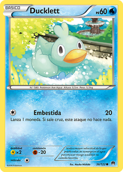 Carta de Ducklett