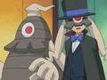 Timmy Grimm junto a sus Pokémon.