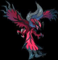 Artwork de la distribución de Yveltal del Festival de Pokémon legendarios.png