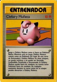 Carta Clefairy Muñeca