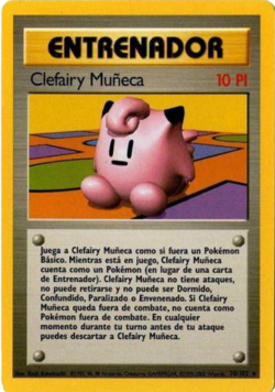 Carta Muñeco Clefairy