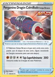 Pergamino Dragón Colmilludo Golpe Brusco (Cielos Evolutivos TCG).png