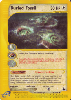 Carta de Buried Fossil