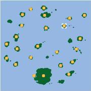 Localización de Isla Cleopatra.