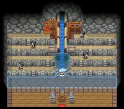 Interior del Gimnasio de Orquídea en los videojuegos