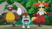 EP901 Froakie, Diggersby y Delphox.png
