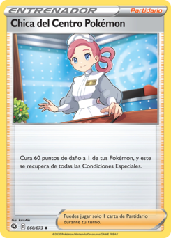 Carta Chica del Centro Pokémon