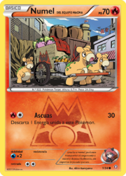 Numel del Equipo Magma (Doble Crisis TCG).png