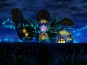 EP512 Centro Pokémon de fantasía de noche.png
