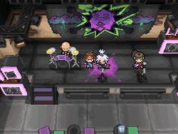 Interior del Gimnasio de Hormigón en los videojuegos