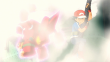 Volcanion usando Neblina