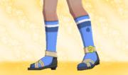 Calcetines de Deporte Azul.png