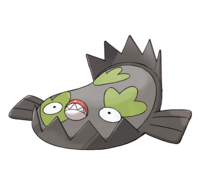 Ilustración de Stunfisk de Galar