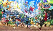 Artwork Tercer Aniversario Pokémon GO.png