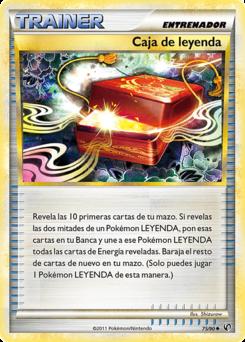 Carta Caja de leyenda