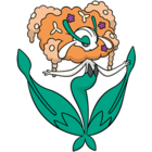 Florges naranja (dream world).png