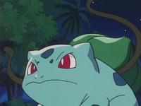 Bulbasaur usando látigo cepa.