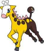Girafarig (dream world).png