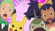 EP712 Millo,Iris,Pikachu y Axew sorprendidos.jpg