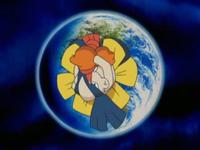 Hariyama usando Movimiento sísmico.