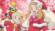 EP814 Clem y Serena en el anuncio navideño.png