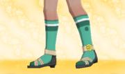 Calcetines de Deporte Verde.png