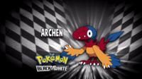 """Archen en el segmento """"¿Quién es ese Pokémon?/¿Cuál es este Pokémon?"""""""