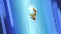 Noctowl usando tajo aéreo.