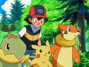 EP550 Ash con Turtwig, Pikachu y Buizel.png