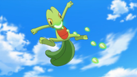 Treecko usando recurrente.