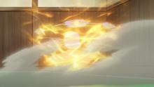 Hitmontop usando foco energía.