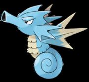Evoluciona a: * Seadra → Kingdra